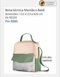 Promoção: Bolsa térmica Natura Mamãe e Bebê - Aceito débito e crédito
