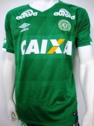 Camiseta Chapecoense oficial autografada para Rodrigo pelo Bruno Rangel
