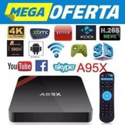 Tv Box 4k Android Wi-fi Google Smart Tv Hdmi Netflix