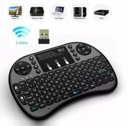 Mini teclado sem fio(novo)