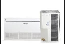 Ar condicionado eletrolux 60000 btus, piso teto ,