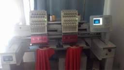 Máquina industrial de bordado