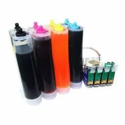Instalação Bulk Ink impressora