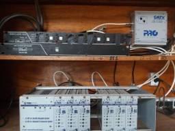 Barato!! Central de TV + Modulador + Amplificador