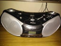 Boombox Audio Ph229n Usb Mp3 Preto Philco Bivolt
