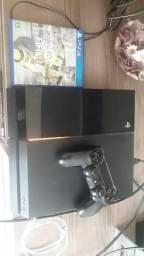 Play 4 com pouco uso