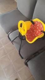 Cadeirinha de bicicleta criança