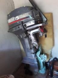 Motor de poupa 15hp