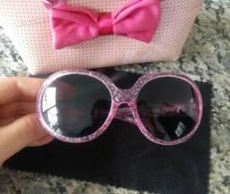 Óculos de sol Infantil Barbie com gliter - Chilli Beans Original 147cdf0945
