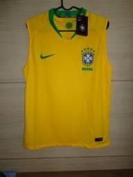 Camiseta Brasil Home 2018