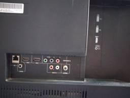 Televisão Semp Toshiba 48 polegadas, full HD