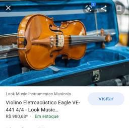 Violino VE 441 4/4 em ótimo estado