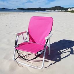Cadeira de Praia Infantil Rosa