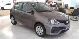TOYOTA ETIOS HATCH X PLUS 1.5 16V AT Cinza 2018/2019