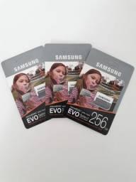 Cartão de memória EVO SELECT 256GB Samsung