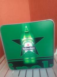 Placa da Heineken - Decorar