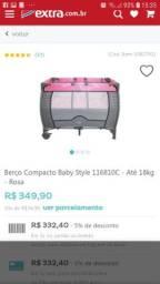 Berço portátil baby style