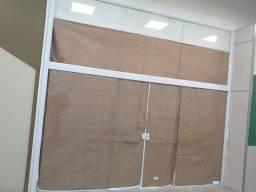 Porta de vidro temperada