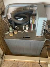 Chopeira elétrica naja com balcão refrigerado para barril