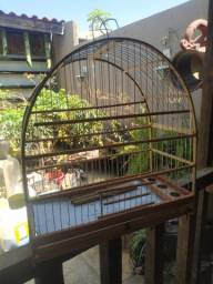 Gaiola passarinho semi-nova