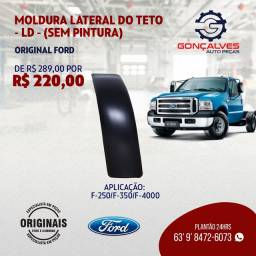 MOLDURA LATERAL DO TETO L-D ORIGINAL FORD F-250/F-350/F-4000