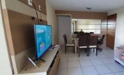 SIM| Apartamento com 03 quartos, 104m², R$ 600 mil a 200m da praia em Boa Viagem