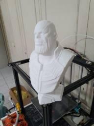 Busto Thanos - Impressão 3D