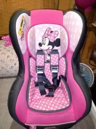 Cadeira para automóvel team Tex Disney primo Minnie -rosa