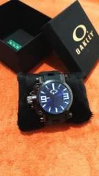 Relógio Oakley - Gearbox Titanium Azul