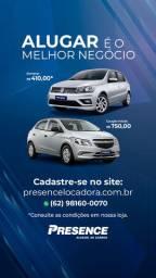 Aluguel de carros para motoristas de aplicativo