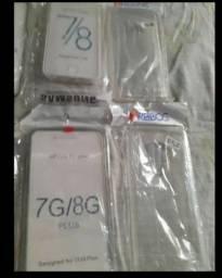 Capa e pelicula iphone 7 8