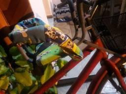 Cadeirinha infantl pra bicicletas