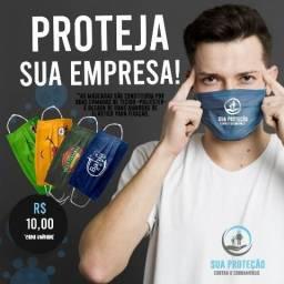 Máscara Personalizadas para Empresas