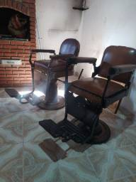 Cadeiras de barbearia cabeleireiro