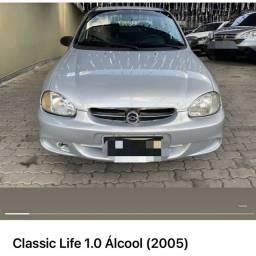 Corsa sedan classic 1.0 ano 2005 ( álcool )