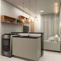 Lindo residencial de 2 quartos/ varanda em construção no Novo Geisel com um valor surreal!