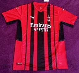 Camisa do Milan 2021 (disponível: G e GG)