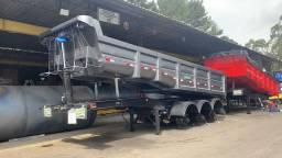 Carreta Rodotec basculante nova 20 metros cubico...