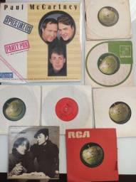 Lps , Vinil compactos - Paul McCartney e John Lennon