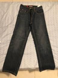 Calça jeans infantil masculina Tommy Hilfiger , TAM 10