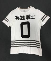Camiseta Branca Gurreiro Herói Tamanho M