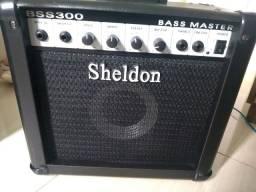 Amplificador Sheldon P/ Baixo Bss300 - Cubo 30 W Rms