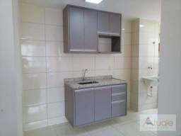 Apartamento com 2 dormitórios para alugar, 57 m² por R$ 900,00/mês - Jardim das Colinas -