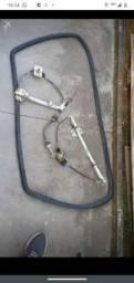 Borracha parabrisa uno, cabo de embreagem, e máquina de vidro 4 porta
