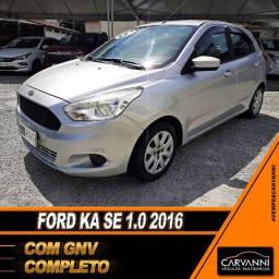 Ford Ka SE 1.0 2016 com GNV