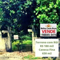 Vendo terreno na Caneca Fina-Guapimirim-RJ, com 30 metros de frente, totalizando 630 m2