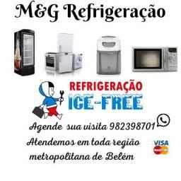 Serviço de refrigeração em geral