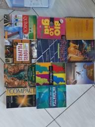 Coleção completa livros didáticos Sesi.