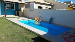 MIC-CA0039 Casa com 2 quartos à venda, 58 m² por R$ 120.000,00 - Unamar!