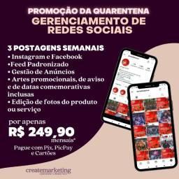 Gerenciamento de Rede Social / Gestão de Instagram